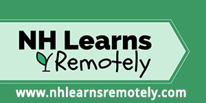 New Hampshire Learns remotely logo