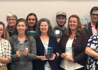 Winners of the 2019 Work-Based Learning Awards.